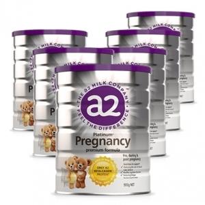 【新西兰直邮包邮】A2 白金版 孕妇奶粉 900g  6罐/箱