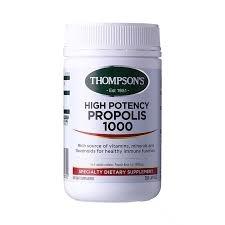 【最划算】Thompson's 汤普森 高含量蜂胶 1000mg 300粒 保质期至19.04