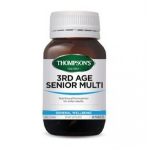 【最划算】Thompson's 汤普森 老年人多维 60粒 保质期至19.09