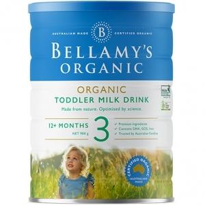 【国内现货包邮】Bellamy's 贝拉米 有机婴幼儿奶粉 3段新版 1罐   保质期20.9