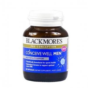 【最划算】Blackmores 百丽康 男性备孕维生素片 28片(Well Men) 保质期至19.08