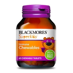 【最划算】Blackmores 百丽康 超级儿童免疫力咀嚼片 60片(Immune)保质期至19.06