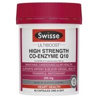 【限时特价】Swisse 高含量辅酶Q10胶囊 300mg 90粒 保质期至21.08