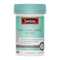 Swisse 婴幼儿DHA+EPA鱼油软胶囊 60粒 保质期至20.09