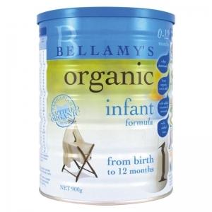 【国内现货包邮】Bellamy's 贝拉米 有机婴幼儿奶粉 1段 *1罐 保质期2020.12