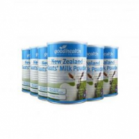 【新西兰直邮包邮】Good health 好健康 羊奶粉 400g -6罐/箱 保质期至21.01