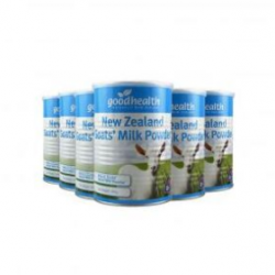 【新西兰直邮包邮】Good health 好健康 羊奶粉 400g(6罐装) 保质期至21.01