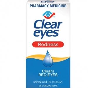 【最划算】Clear Eyes 祛红血丝滴眼液 15ml 保质期至19.09