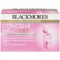【最划算】Blackmores 百丽康 孕前黄金营养素 28片+28粒(Well Gold) 保质期至19.08