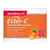 Nutralife 纽乐 酯化维生素C 1200mg 泡腾剂 5g*15袋 保质期至20.10