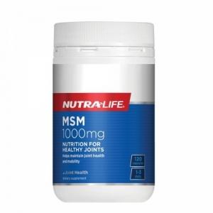 Nutralife 纽乐 关节止痛有机硫片 MSM 1000mg 120粒 保质期至22.05