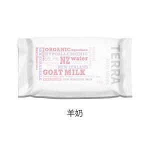 Terra 纯天然新西兰水婴幼儿湿巾 70张 - 羊奶