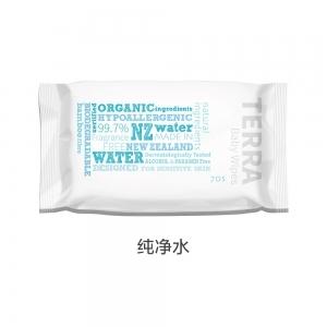 Terra 纯天然新西兰水婴幼儿湿巾 70张 - 纯净水