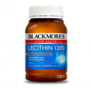【最划算】Blackmores 百丽康 卵磷脂胶囊 160粒(Lecithin) 保质期至19.12