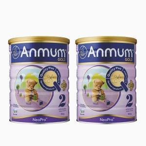 【新西兰直邮包邮】Anmum 安满2段 (2罐装) 保质期至2021年4月