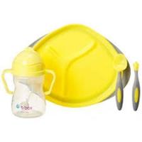 B.box 儿童/宝宝用餐套装(学饮杯+叉勺套盒+餐盘)