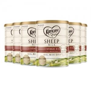 【新西兰直邮包邮】Karicare 可瑞康绵羊奶 3段 保质期至22.11