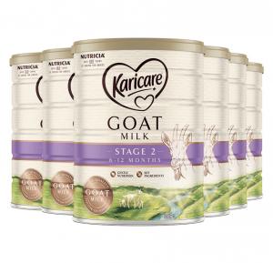 【澳洲直邮包邮】Karicare 可瑞康 羊奶 2段 新版 *6罐  参考日期 22.9
