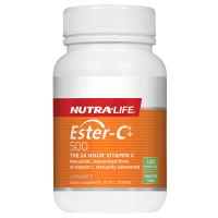 Nutralife 纽乐 高含量维生素C 500mg 120片 保质期至22.06