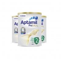 【澳洲直邮包邮】Aptamil 爱他美 铂金 2段 *3罐  参考日期21.9