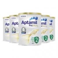【澳洲直邮包邮】Aptamil 爱他美 铂金 2段*6罐  参考日期21.9